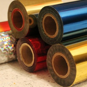 200 Foot Hot Stamp Foil Rolls