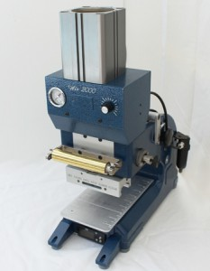 Half-Ton Air Foil Stamping Machine