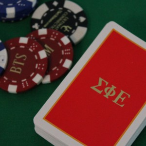 Hot Stamped Cards and Poker Chips