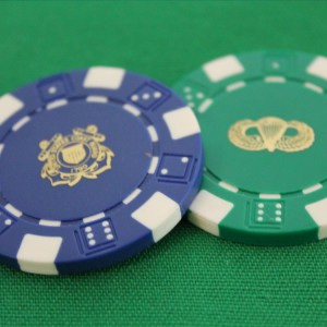 Hot Stamped Poker Chips