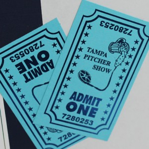 Fuser Foil on Admission Tickets